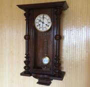 Старинные настенные часы E.R.Schlenker (Kienzle) с боем - около 100 лет!