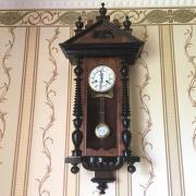 Часы настенные старинные Kienzle - около 100 лет!