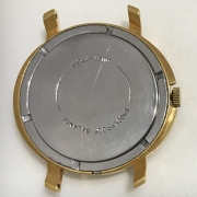 Мужские наручные часы Полет СССР позолоченные с будильником