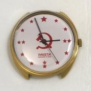 Мужские наручные часы Восток СССР 2409А позолоченные AU 5