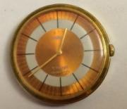 Наручные женские часы Чайка СССР 17 камней позолоченные
