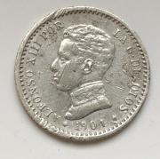 Старинная Испанская монета серебро