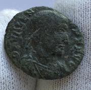 Монета поздний древний Рим