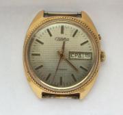 Наручные мужские часы Слава СССР AU 1 два календаря