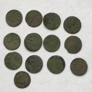 Комплект старинных средневековых боратинок - 7 шт № 29