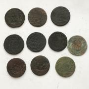Комплект старых монеты царской России денга № 23