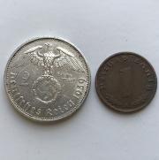 Комплект немецких монет третьего рейха № 41