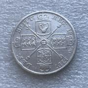 Монета два британских флорина