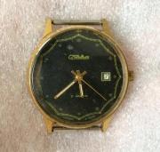 Мужские наручные часы Слава СССР позолоченные 21 камень