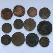 Старинные монеты № 2 - Российской империи - царские 13 шт