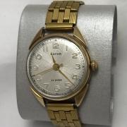 Наручные мужские часы Полет СССР с будильником позолоченные AU 1