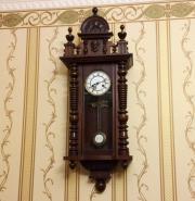 Старинные настенные часы Gustav Becker около 1915 года