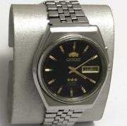 Наручные мужские часы Луч СССР позолоченные тонкие