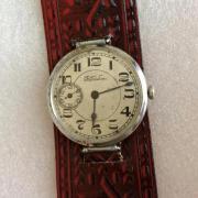 Старинные швейцарские наручные часы В. Габю - около 100 лет