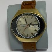 Мужские наручные часы Слава Москва позолоченные СССР
