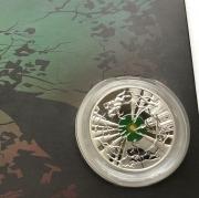 Мужские наручные Часы Orient College темно зеленые Multi Calendar