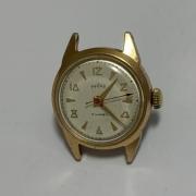 Мужские наручные часы Заря СССР большие позолоченные