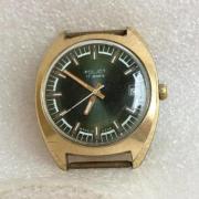 Мужские наручные часы Ракета 2609 НА позолота редкие