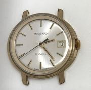 Наручные мужские часы Восток СССР позолоченные 17 камней AU 10