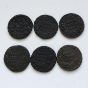 Интересные монеты царской России № 13 комплект 9 штук
