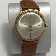 Мужские наручные часы Молния СССР черные марьяж