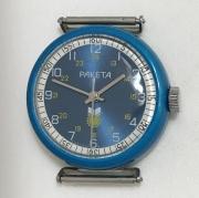 Мужские наручные часы Orient crystal 21 jewels 3 Stars серые