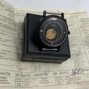 Наручные мужские часы Слава 26 камней СССР темно серые