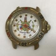 Командирские часы Восток желтые