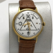 Мужские наручные часы Полет de luxe СССР 29 камней автоподзавод черные