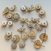 Мужские наручные часы Чайка медицинские СССР позолоченные