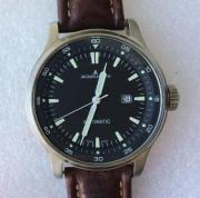 Мужские наручные швейцарские часы Jacques Lemans автомат