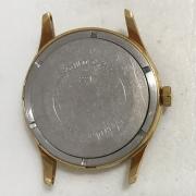 Мужские наручные часы Ракета 2609 НА серебристые в позолоте СССР