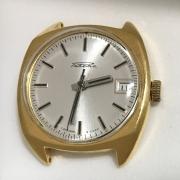 Мужские наручные часы Ракета СССР 2609 НА позолоченные двухцветные
