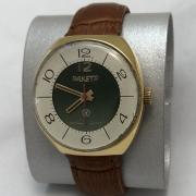 Мужские наручные часы Ракета эпохи СССР в позолоте