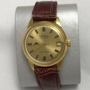 Мужские наручные часы Cornavin 15 jewels СССР позолоченные