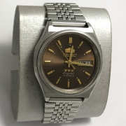 Мужские наручные Часы Orient механические коричневые с автоподзаводом