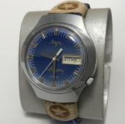Наручные мужские часы Луч СССР электронно-механические