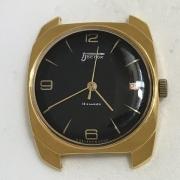 Мужские наручные часы Восток 18 камней СССР 2214 позолоченые