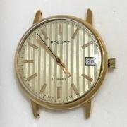 Мужские наручные часы Полет СССР 16 камней в позолоте