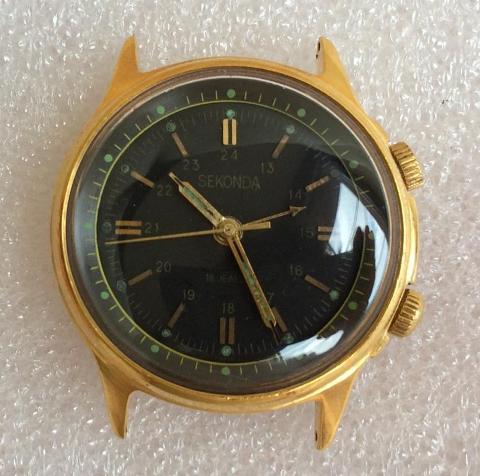 Часы советские для англичан с 1967 г. - Sekonda