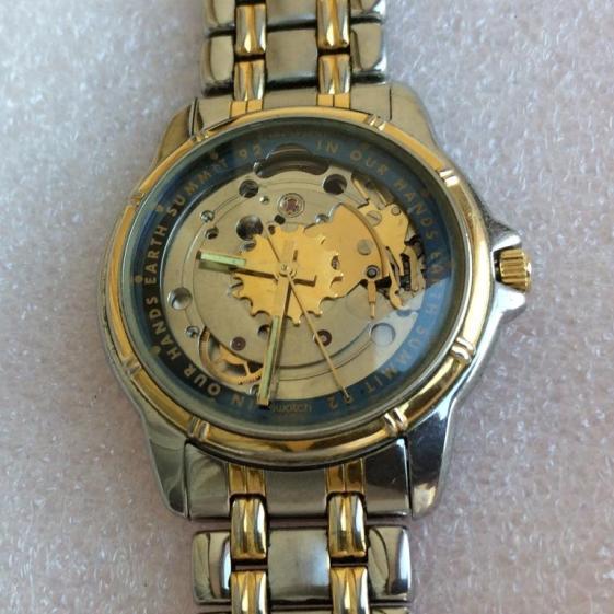Описание часов swatch 21 jewels skeleton
